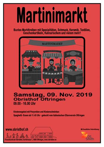 Martinimarkt Plakat 2019